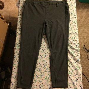 Faded Glory Pants - Gray leggings